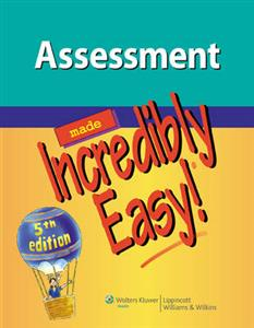 Assessment Made Incredibly Easy! 5th Edition