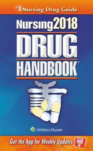 Nursing 2018 Drug Handbook 38th edition