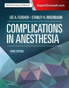 Complications in Anesthesia 3rd edition