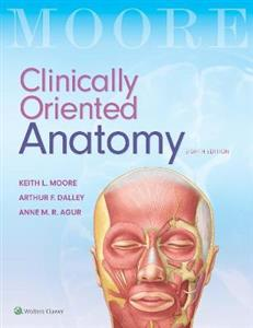 Clinically Oriented Anatomy 8th edition Due September