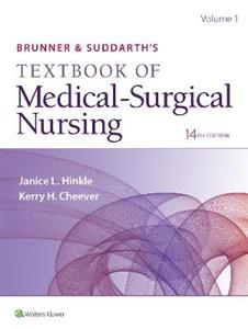 Brunner & Suddarth's Textbook of Medical-Surgical Nursing 14th US edition 1 vol