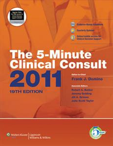 The 5-minute Clinical Consult (print, Website, and Mobile): 2011