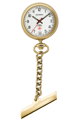 Olympic Nurse Watches - Stainless steel - Gold
