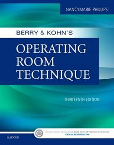 Berry & Kohn's Operating Room Technique 13th edition