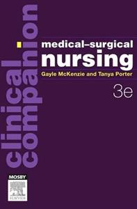 Clinical Companion: Medical-Surgical Nursing 3rd ANZ edition