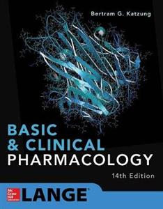Basic & Clinical Pharmacology 14 E