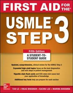 First Aid for the USMLE Step 3, Fifth Edition - Click Image to Close
