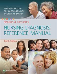 Sparks & Taylor's Nursing Diagnosis Reference Manual - Click Image to Close