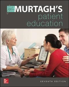 Murtagh's Patient Education 7th edition