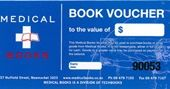 Medical Books Voucher $50