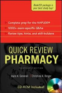 Quick Review: Pharmacy, Thirteenth Edition