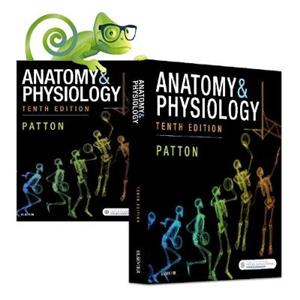 Anatomy & Physiology, 10e and Elsevier Adaptive Quizzing for Anatomy & Physiology, Anz 10e Value Pack